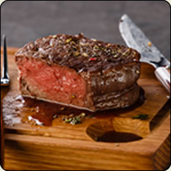 Grassfed Criollo Tenderloin Filet - Our finest Steak!