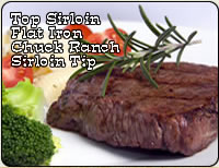 Grassfed Criollo Steaks - Sirloins, Flat-Irons, Chuck Ranch and Sirloin Tip Steaks