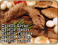 Exquisite, delicate flavor, power-packed with nutrients, Criollo grass-fed organ meats are delicious and healthful!