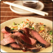 DELICIOUS CRIOLLO GRASS FED BEEF ASIAN BARBECUE STEAK