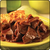 This Grass Fed Criollo Beef is delicious! BBQ BEEF SKILLET WITH CORNBREAD