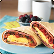 This Grass Fed Criollo Beef is delicious! BREAKFAST BEEF BURRITOS