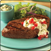 This Grass Fed Criollo Beef is delicious! CUCUMBER CHUCK RANCH STEAK