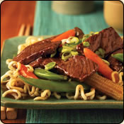This Grass Fed Criollo Beef is delicious! EASY ASIAN STIR-FRY