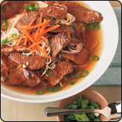 This Grass Fed Criollo Beef is delicious! GINGER BEEF & NOODLE BOWLS