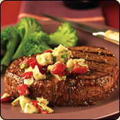 This Grass Fed Criollo Beef is delicious! MEDITERRANEAN ROUND STEAKS