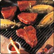 This Grass Fed Criollo Beef is delicious! SANTA FE GRILLED BEEF STEAKS & CORN