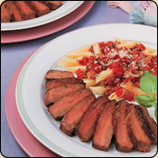 This Grass Fed Criollo Beef is delicious! SOUTHERN ITALIAN STEAK & PASTA FOR TWO
