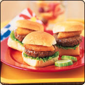 DELICIOUS CRIOLLO GRASS FED BEEF SWEET HAWAIIAN MINI BURGERS