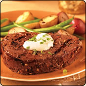 This Grass Fed Criollo Beef is delicious! TENDERLOIN FILET WITH HORSERADISH CREAM