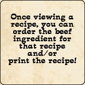 You can easily buy the Criollo Grassfed Beef for any recipe by CLicking the 'Buy Beef' button!